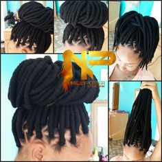 faux locs with yarn Yarnbraids  niceyporter