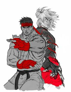 Reffed by Kinu Nishimura, who did the Capcom side of Working on renditions of the SFV roster. RYU KEN SFV x sketch Ken Street Fighter, Capcom Street Fighter, Street Fighter Characters, Female Characters, Fictional Characters, Ryu Ken, Character Art, Game Character Design, Fanarts Anime