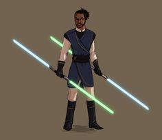 Lafayette // Hamilton x Star Wars by 0tterp0p on Tumblr