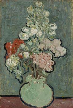 """ Vincent Van Gogh Vase of Flowers """