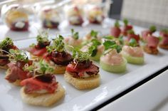 Canapes and Starters