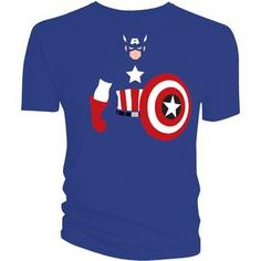 [Marvel: T-Shirts: Captain America Vector (Product Image)]