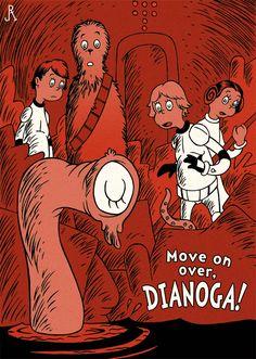 Move on over, Dianoga! by *DrFaustusAU, via DeviantART