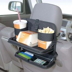 New Seat Back Food Meal Drink 2 Level Tray Table Storage Holder Car Accessories accessories for kids New Seat Back Food Meal Drink 2 Level Tray Table Storage Holder Car Accessories Car Storage, Table Storage, Table Tray, Car Seat Organizer, Cute Car Accessories, Vehicle Accessories, Car Essentials, Car Gadgets, Technology Gadgets