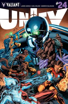 Comic Book Preview: Unity #24
