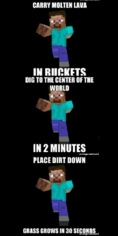 Minecraft logic never make sense