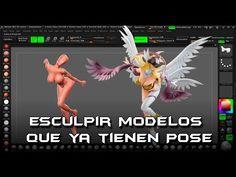 Comenzar a esculpir modelos en Pose Parte1 - YouTube