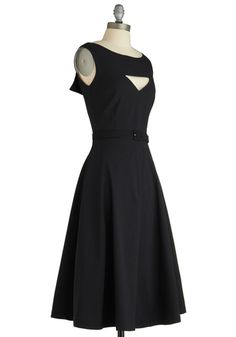The Evening Unfolds Dress from Modcloth. Such a pretty shape!