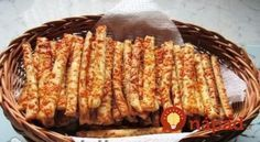 Božské debrecínske paličky: Pôvodný recept z Maďarska, jednoduchý a predsa nemá páru! Croatian Recipes, Naan, Bread Recipes, Kids Meals, Recipies, Food And Drink, Menu, Snacks, Vegetables