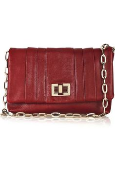 Leather Clutch | Anya Hindmarch Roslyn leather clutch bag 5