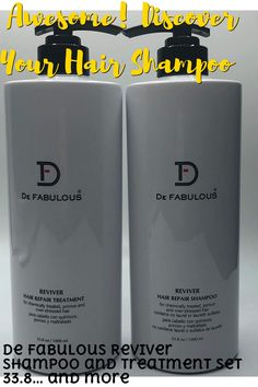 For chemical treated, porous and over-stressed hair. Shampoo - Designed to restructure and protect chemically enhanced and porous hair. Formulated with special wheat protein to restore strength, shine, moisture, and vitality. Treatment - Ideal for permed, tinted or relaxed hair. Reconstructs and strengthens extremely damaged and fragile hair. Delivers deep and intensive nourishment to coarse a... #hairshampoo