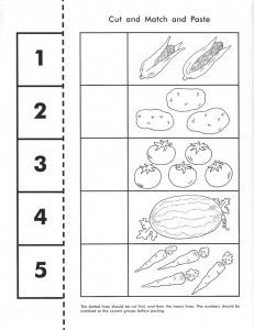 vegetable counting worksheet | Crafts and Worksheets for Preschool,Toddler and Kindergarten