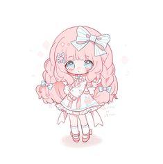 Cute Chibi, Fantasy, Twitter, Anime, Cartoon Movies, Fantasy Books, Anime Music, Fantasia, Animation