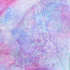 """Фантазийные сюжеты ручной работы. Ярмарка Мастеров - ручная работа. Купить """"Blossom"""" Цветение. Handmade. Бледно-розовый, авторская графика"""