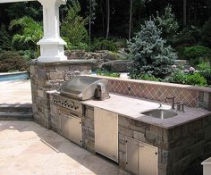 Start preparing now for a custom outdoor kitchen and patio you would like to enjoy this Summer | Flickr - Photo Sharing!