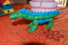 Tante piccole idee realizzate: Costruire con i mattoncini ecologici: il drago