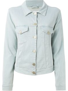 Shop Acne Studios 'Edith' denim jacket in Banner from the world's best independent boutiques at farfetch.com. Over 1000 designers from 300 boutiques in one website.
