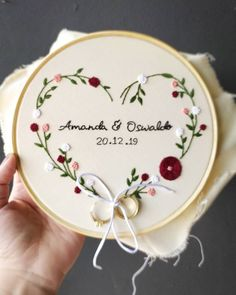 Image may contain text * Image may contain text – - Stickerei Ideen Diy Embroidery Patterns, Hand Embroidery Videos, Embroidery Flowers Pattern, Simple Embroidery, Hand Embroidery Stitches, Crewel Embroidery, Embroidery Hoop Art, Ribbon Embroidery, Machine Embroidery