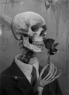 Skulls, Bones, Skellys...  (Via honeybloodgoblin)  Source ablogfortherecentlydeceased