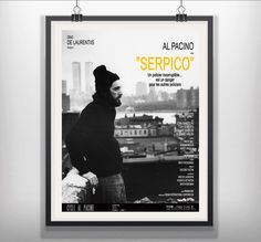 Serpico  1973 Sidney Lumet  Al Pacino John Randolph Tony Roberts Bernard Barrow M. Emmet Walsh  #Serpico  #SidneyLumet #AlPacino #JohnRandolph #TonyRoberts #BernardBarrow #NewYork #TwinTowers #MoviePosters