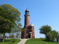 Lighthouse Kiel-Holtenau by Batikart ... handicapped ... sorry for no comments, via Flickr