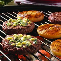 ... this ⃝ let s eat dinner recipes onion cheeseburgers grilled onion