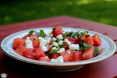 Infusing watermelon with smoke gives this salad a huge flavour pop (along with feta and mint) that will intrigue and impress your guests.