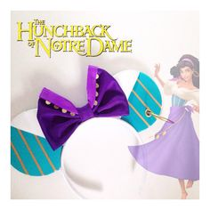 Hunchback of Notre Dame Esmeraldainspired ears headband ($18) ❤ liked on Polyvore featuring accessories, hair accessories, head wrap hair accessories, hair bands accessories, head wrap headband, hair band headband and headband hair accessories