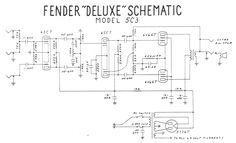 fender deluxe layout - Google Search | Gibson GA-20 Amplifier ...