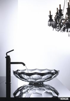Briolette Glass Vessel by Kohler - Available in 4 Colors