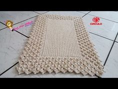 There are many types of Satin stitch.In Bangla language Satin stitch is called Vhorat Salai.Here I have shown 2 types of Satin stitch. Crochet Doily Rug, Crochet Rug Patterns, Crochet Carpet, Crochet Tablecloth, Crochet Home, Crochet Designs, Crochet Flowers, Crochet Stitches, Embroidery Stitches