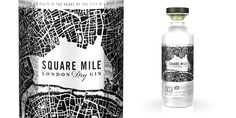 Square Mile London Dry Gin on Packaging of the World - Creative Package Design Gallery