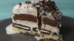 Slutty Brownie Ice Cream Cake  - Delish.com
