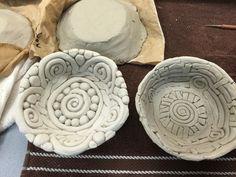 7th grade clay bowls  Mrs. Auer's art class!