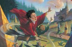 16 Ilustraciones inéditas de Harry Potter hechas por la ilustradora de los libros
