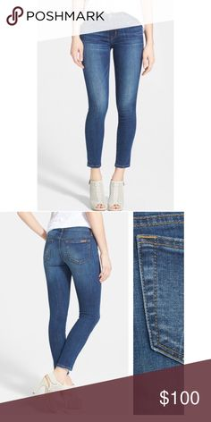 """joes jeans """"aubree"""" size 29 great condition never dried in the dryer always hung dry right pant leg has a weird wave but it disappears when you put the jeans on Joe's Jeans Jeans Skinny"""