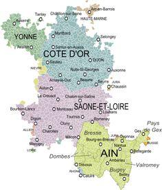 Carte De La Bourgogne Visiter Sane Et Loire Ancien Rgime Voyages