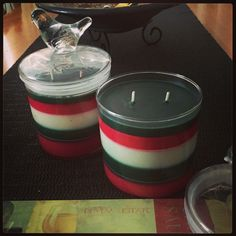 Carmels Creative Candles One in a million design Orders welcome $18 each 2 for $35