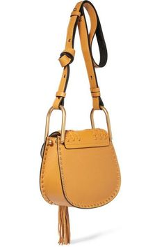 0e4e1cdfaf5 Saffron leather and suede (Calf) Snap-fastening front flap Designer color   Sunflower Yellow Comes with dust bag Weighs approximately Made in Italy