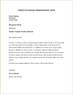 Letter Of Financial Support  Letter Example    Letter