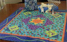 Hanukkah Celebration Quilt Pattern Pieced//Applique JM