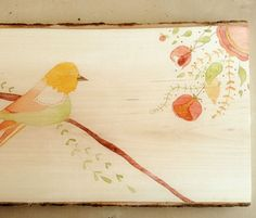Watercolor on wood how to