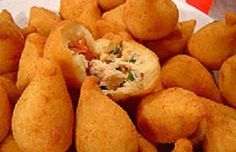 Receita de coxinha de massa com batata - Tuasreceitas.com.br