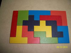 MACANA JUEGOS DIDACTICOS EN MADERA: TETRIS Math Games, Activities For Kids, Crafts For Kids, Toys For Boys, Kids Toys, Iq Puzzle, Tetris, Cardboard Paper, Busy Book
