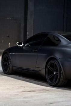 Matte Black - BMW Series #luxury sports cars #sport cars #ferrari vs lamborghini #celebritys sport cars| http://sportcarcollections.lemoncoin.org