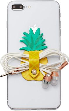 kate spade new york Pineapple Cord Keeper Sticker