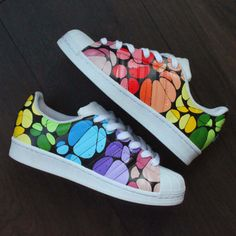 Behind The Scenes By theshoecosmetics Sneakers Mode, Custom Sneakers, Custom Shoes, Sneakers Fashion, Shoes Sneakers, Fashion Shoes, Painted Canvas Shoes, Painted Sneakers, Hand Painted Shoes