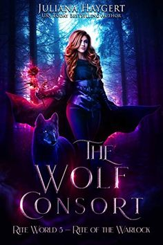 The Wolf Consort by Juliana Haygert. Cover by Moonchildlilja. Seems like a typical urban fantasy cover starring your standard badass, right?