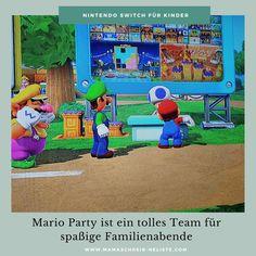 3 Super Mario Nintendo Switch-Spiele für Kinder (USK 0) Super Mario Party, Mario Kart 8, Mario Und Luigi, Donkey Kong, Alter, Nerf, Nintendo Switch, Toys, Outdoor