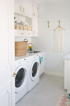 Elsie's Laundry Room Tour (Before + After) – A Beautiful Mess